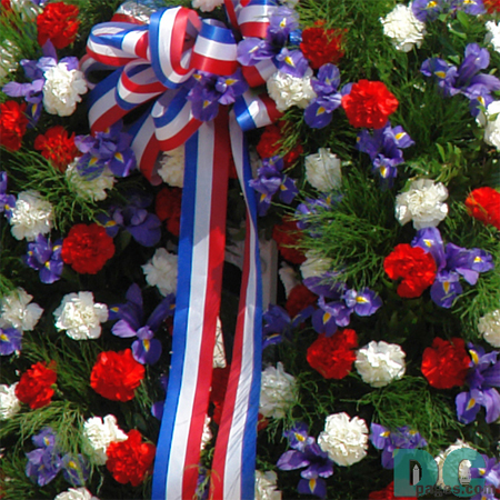 Memorial Day Tomb of the Unknown Soldiers Wreath Print