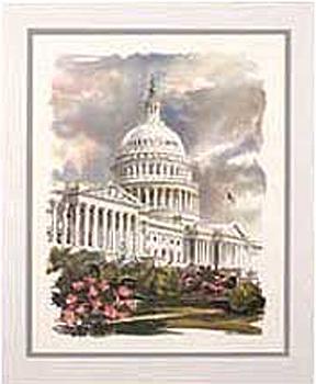 East Front U.S. Capitol Art Print