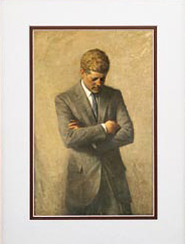 John F. Kennedy Framed Art Print