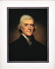 Thomas Jefferson Framed Art Print