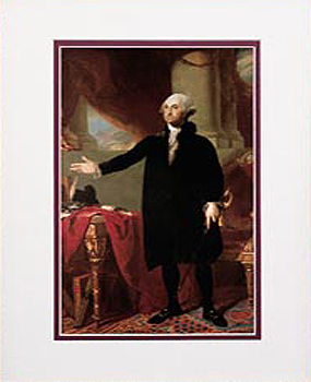 George Washington Framed Art Print