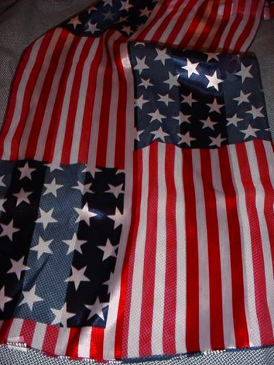 American Flag Stars and Stripes Scarf