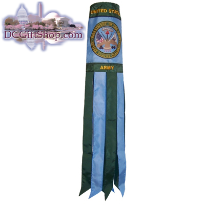 40 Inch Army Crest Windsock