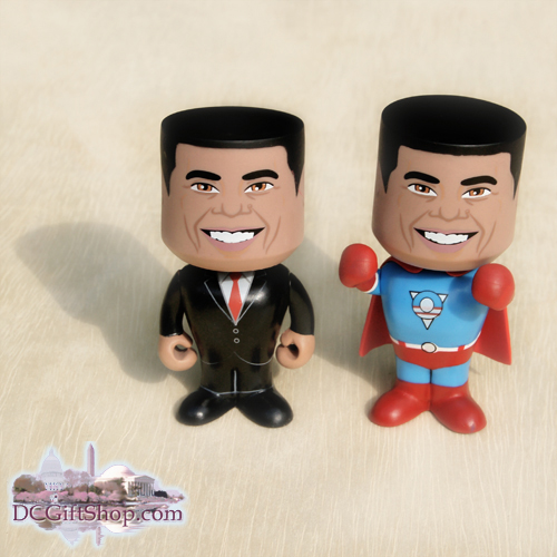 The President & Super-O Bobbleheads