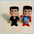 The President & Super-O Bobbleheads