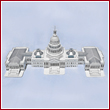 U.S. Capitol 3D Puzzle