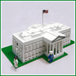 White House Plastic Construction Set