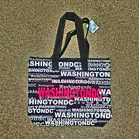 """Washington DC"" Tote Bag"