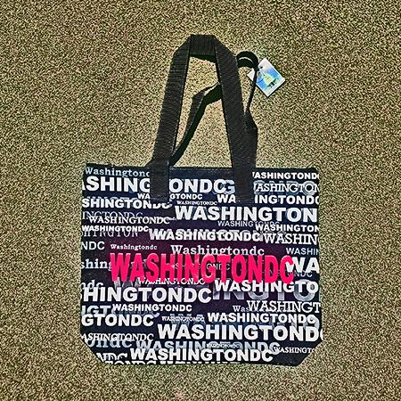"""Washington DC"" Tote Bag"