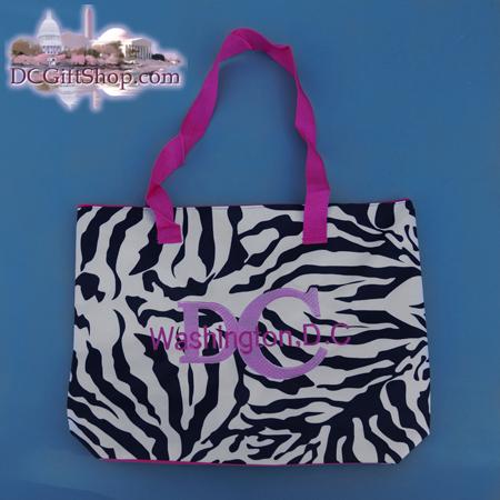 DC Zebra Print Tote Bag