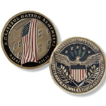 10th Anniversary United In Memory Bronze Coin