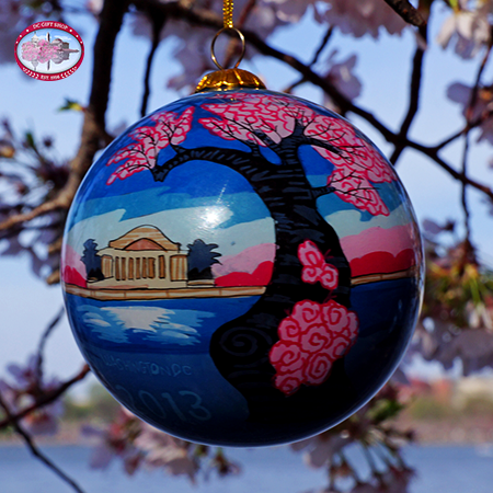 The 2013 National Cherry Blossom Festival Ornament