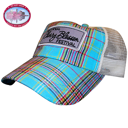 2014 Cherry Blossom Plaid Hat