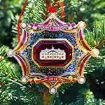 2014 Mount Vernon Christmas Ornament