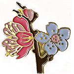 2014 National Cherry Blossom Festival Lapel Pin