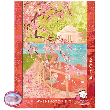 The 2014 National Cherry Festival Official Poster