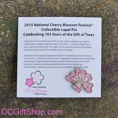 2015 National Cherry Blossom Festival Lapel Pin