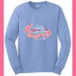2017 Long Sleeve Cherry Blossom Tee Shirt