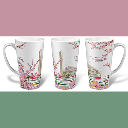 2017 National Cherry Blossom Festival Latte Mug