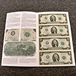 Uncut US Currency Two Dollar Sheet