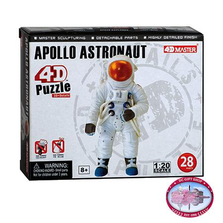 4D Apollo Astronaut Puzzle