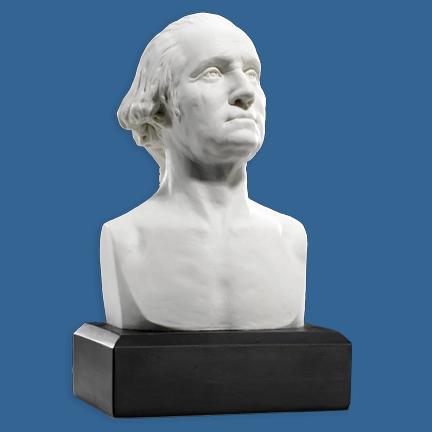"George Washington 6"" Marble Bust"