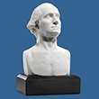 "George Washington 6"" Marble Bust"