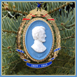 Abraham Lincoln Cameo Ornament