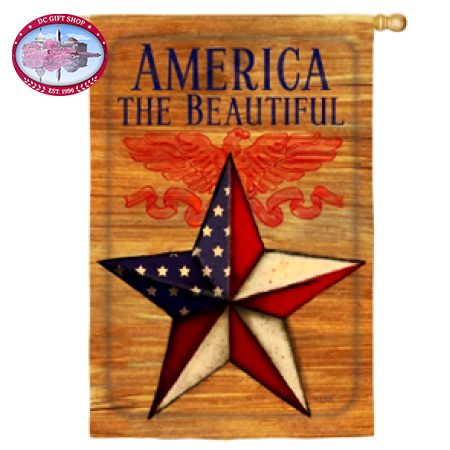 America the Beautiful Flag