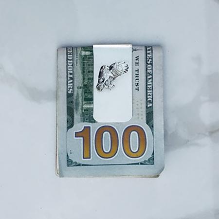 American Eagle Silver Money Clip