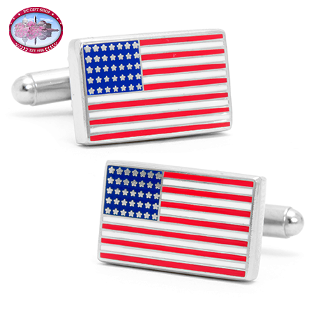 American Flag Cufflinks
