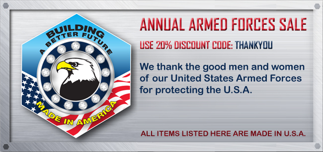 Annual Armed Forces Sale