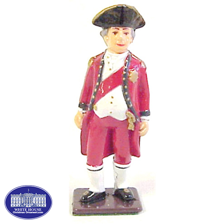 British General Metal Figurine