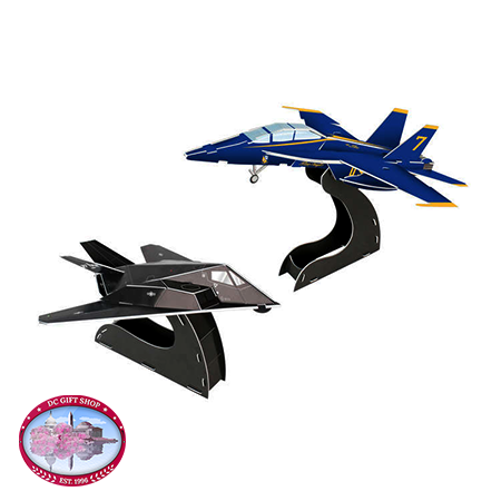 Blue Angels F/A-18/F117 3D Puzzle, 40-Piece