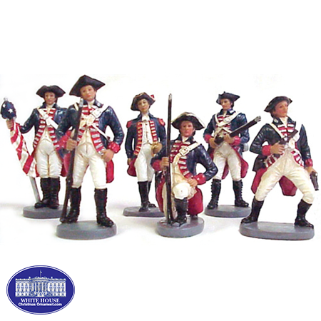 COLONIAL SOLDIER SET (1 SET)