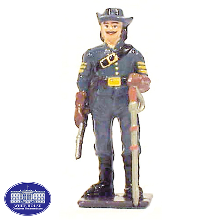 CS CAVALRYMAN: METAL FIGURINE