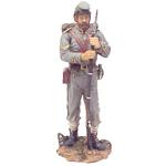 CS SOLDIER W/ BACKPACK LG. RESIN FIGURINE