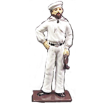 CSA SAILOR METAL FIGURINE