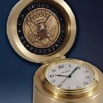 Chelsea® Brass Button Clock