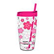 Tritan Double Wall Tumbler w/Straw