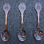 Washington DC Copper Souvenir Spoon Set