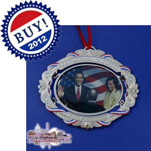 Vote Barack Obama Democrat Ornament