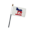 Democratic Party Office Desk Flag