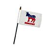 Democratic Party Office Desk Flag