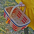 Dolley Madison Patriotic Easter Basket