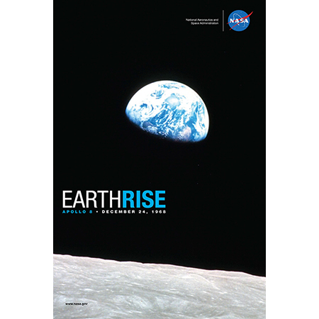 Apollo 8 Earth Rise Print