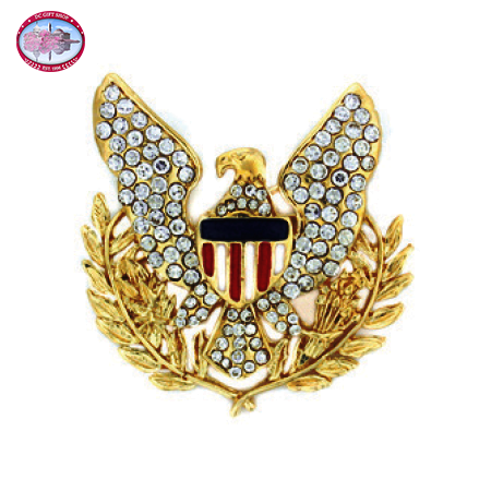 Gold Plated Eagle Brooch