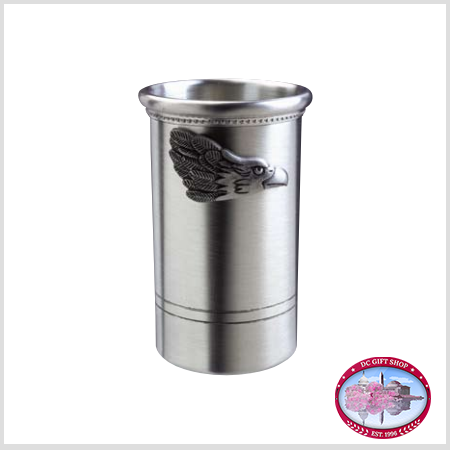 Pewter Eagle Pencil Cup