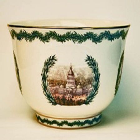 Four Stages of Capitol Revere Porcelain Bowl