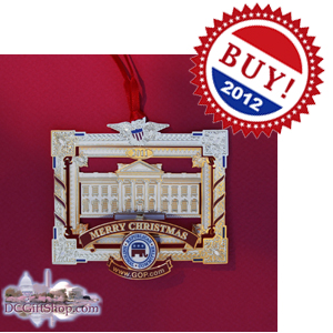 Vote Mitt Romney Republican Ornament